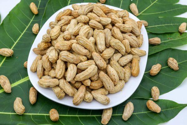 Steamed peanut