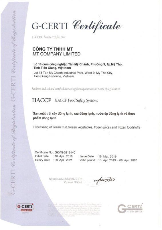 HACCP-2019